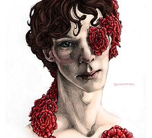 """Organic"" - sherlock portrait, full colour version by justaholmesboy"