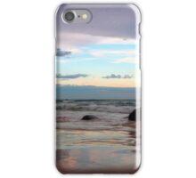 Evening Light on the Beach iPhone Case/Skin