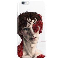 """Organic"" - sherlock portrait, full colour version iPhone Case/Skin"