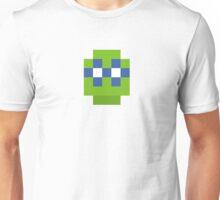 pixel hero green blue Unisex T-Shirt