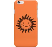 Superwholock - Orange iPhone Case/Skin