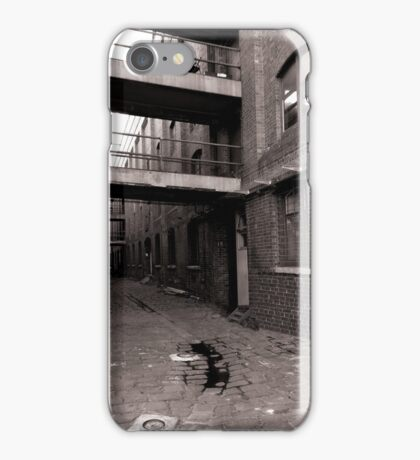 Black and White Alley iPhone Case/Skin
