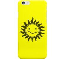 Superwholock - Yellow iPhone Case/Skin