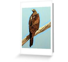 'Warida (Wedge-Tailed Eagle) #2 ' by Julie Dowling Greeting Card