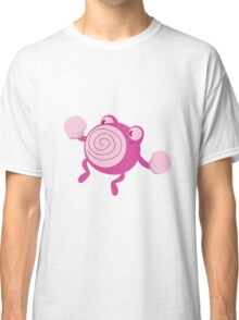 Pink Poliwhirl Classic T-Shirt