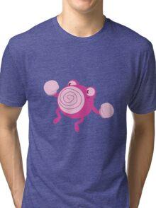 Pink Poliwhirl Tri-blend T-Shirt