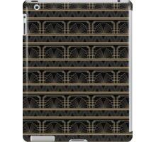 Art deco fan iPad Case/Skin