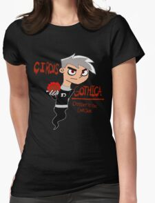 Dark Danny Phantom Womens Fitted T-Shirt