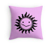 Superwholock - Pink Throw Pillow