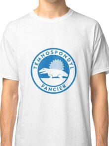 Temnospondyl Fancier Tee (Blue on White) Classic T-Shirt