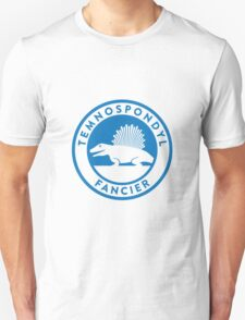 Temnospondyl Fancier Tee (Blue on White) Unisex T-Shirt