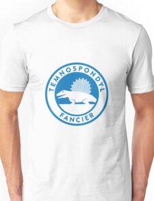 Temnospondyl Fancier Tee (Blue on White) T-Shirt