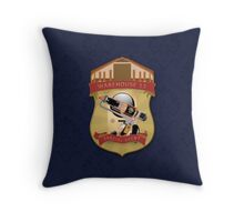 Warehouse 13 - Special Agent Throw Pillow