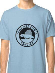 Temnospondyl Fancier Tee (Black on Light) Classic T-Shirt