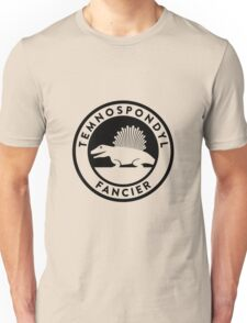 Temnospondyl Fancier Tee (Black on Light) T-Shirt