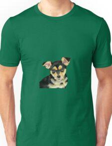 Black Pup Unisex T-Shirt