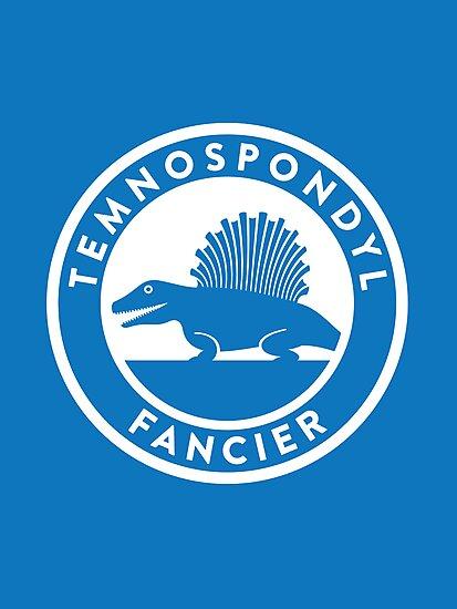 Temnospondyl Fancier Print by David Orr