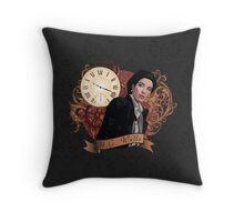 Victorian HG Wells Throw Pillow