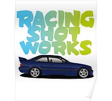 Racing Shot Works collaboration Poster