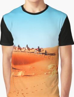 On The Road. On The Sand. Graphic T-Shirt