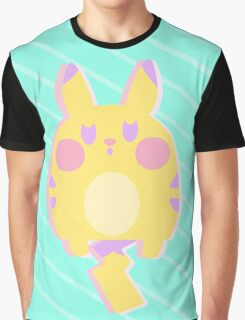 Pikachu Pastel Graphic T-Shirt