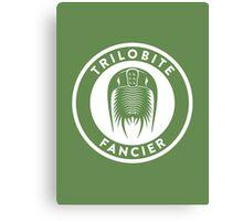 Trilobite Fancier Print Canvas Print