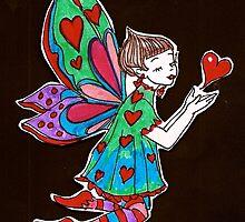 Heart Fairy by kristaldarlin