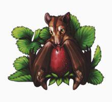Strawberry Bat Baby Tee