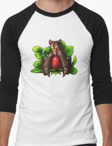 Strawberry Bat Men's Baseball ¾ T-Shirt