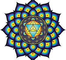 Flower Of Life Merkaba by GalacticMantra