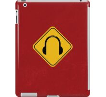 Music Zone iPad Case/Skin