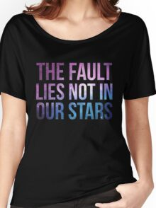 The Fault Lies Not in Our Stars Women's Relaxed Fit T-Shirt
