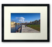 The Old Dock No. 1 Framed Print
