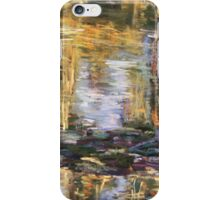 Willow reflections, Monets Garden, Giverny iPhone Case/Skin