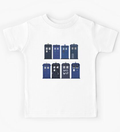 Doctor Who - The TARDIS Kids Tee