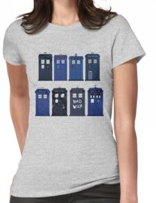 Doctor Who - The TARDIS Womens Fitted T-Shirt