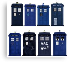 Doctor Who - The TARDIS Canvas Print