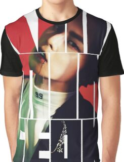EXO Xiumin 'Monster' Typography Graphic T-Shirt