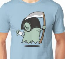 Grimm Grinning Ghost Unisex T-Shirt