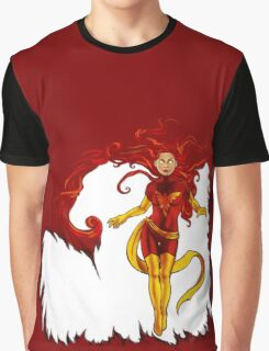 Fire and Life Graphic T-Shirt