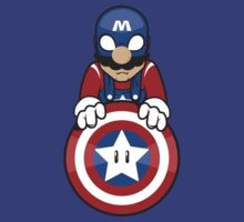 Captain Ah-Mario by Jason Tracewell