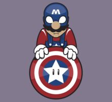 Captain Ah-Mario Kids Tee