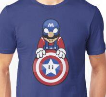 Captain Ah-Mario Unisex T-Shirt