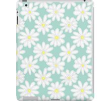 Bright Happy Daisies on Mint iPad Case/Skin