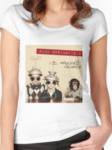 rick springfield science Women's Fitted Scoop T-Shirt