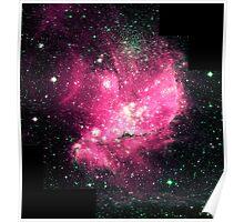 Magellan Nebula [Pink] | Fresh Universe Poster