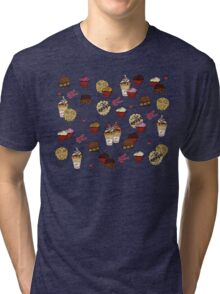 Sweet Release Cakes and Treats Tri-blend T-Shirt