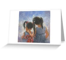SISTER LOVE TWO SISTERS Greeting Card