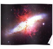 Starburst Galaxy V2 | Fresh Universe Poster