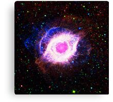 Helix Nebula Triangle   Fresh Universe Canvas Print